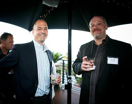 Cary Breese, CEO, GenieDB; David Husak, CEO, Plexxi Inc.