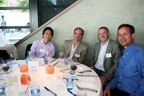 Andrew Lee, VP BD, CloudBees; Corey Scobie, Vice President, Technology, SOA Software; Bill Platt, VP Operations, Engine Yard; John Higgins, VP Business Development, AppFog, Inc.