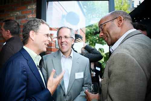 Michael Skok, Partner, NBVP; Lou Guercia, CEO, Scribe Software; David McFarlane, CEO, Akiban