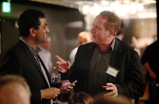 Prat Moghe, Founder & CEO Cazena; Peter Cohen; VP Business Development, AWS