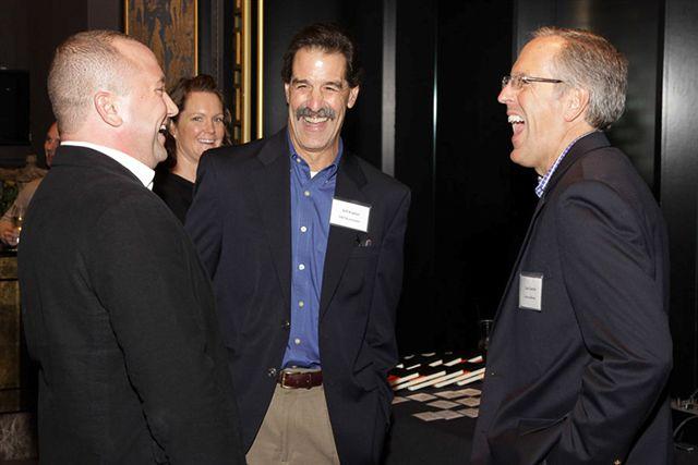 Cory Von Wallenstein, Chief Technologist, Dyn; Jeff Kaplan, Managing Director, THINKstrategies; Lou Guercia, CEO, Scribe