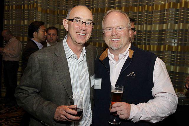 Don Bulens, CEO, Unidesk; John McEleney, CEO, Belmont Technologies