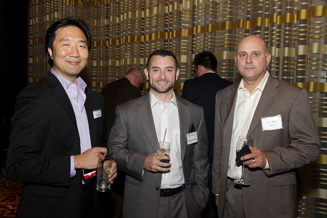 Doug Kim, Managing Director, Pegasystems; Ted Wallace, Janeiro Digital; Peter Manca, CEO, Egenera