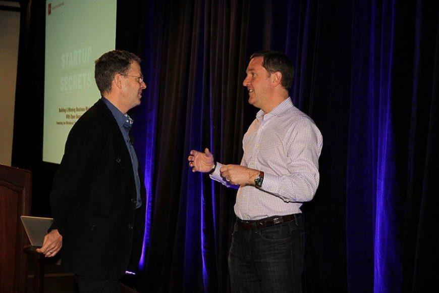 Michael Skok welcomes Jim Whitehurst, President & CEO Red Hat