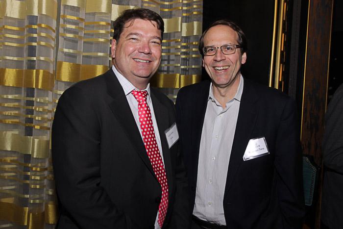 Keith Shinn, SVP Fidelity and Cimmeron Buser, SVP Global Devt, Apperian
