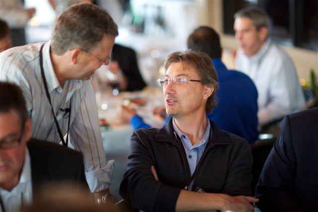 Michael Skok, Partner, North Bridge Venture Partners; Simon Crosby, CTO, Bromium.