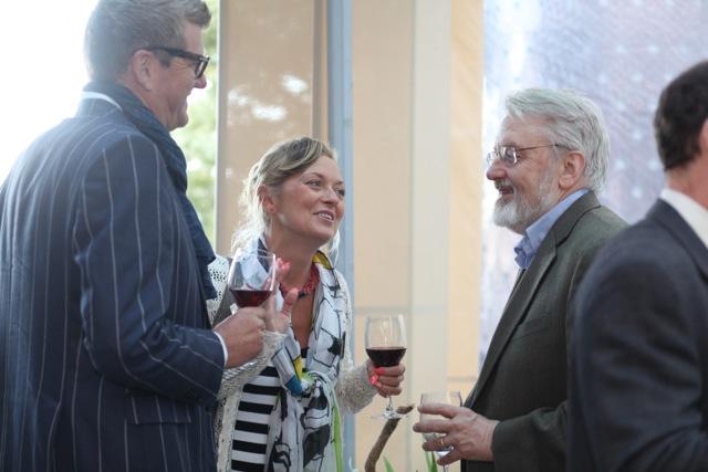 Geir Fagerhus, CFO & Co-Founder & Krystyna Wojnarowicz, Co-Founder, Marsec – XL; Mark Radcliffe, DLA Piper