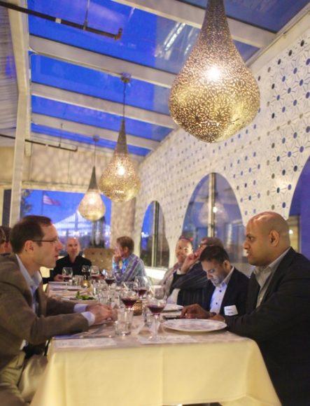 Mike Tuchen, CEO, Talend; Sanjiva Weerawarana, Chairman, CEO & Founder, WSO2; Devaka Randeniya, Director, Business Development, WSO2; Brian Reale, Chief Executive Officer, Colosa; Issac Roth, CEO, Strongloop