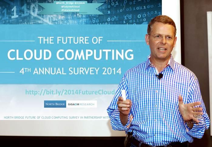 Michael Skok, General Partner, North Bridge Venture Partners, presents the 2014 Future of Cloud Computing Survey